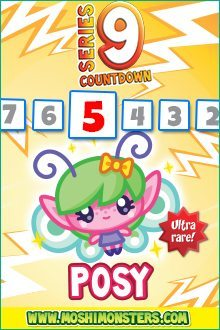 Moshi Monsters Series 9: Posy