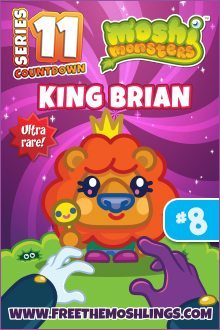 Moshi Monsters Series 11: King Brian