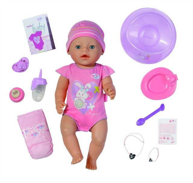 819197 BABY born Interactive Girl small