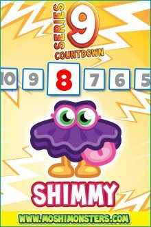 Moshi Monsters Series 9: Shimmy