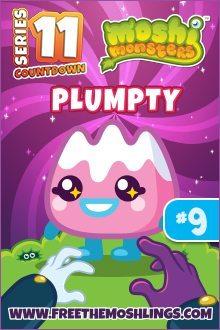 Moshi Monsters Series 11: Plumpty