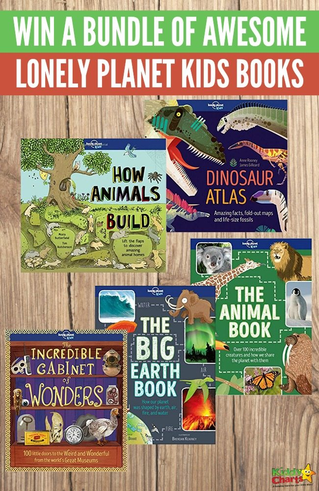 A Chance to Win A Bundle Of Awesome Lonely Planet Kids Books
