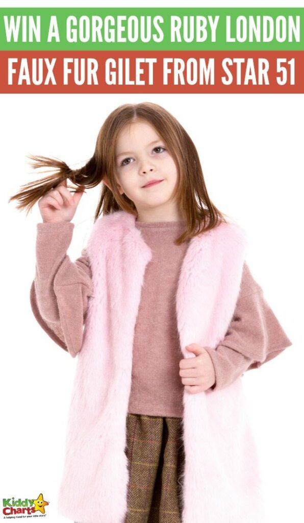 A Chance to Win a gorgeous Ruby London Faux Fur Gilet from Star 51