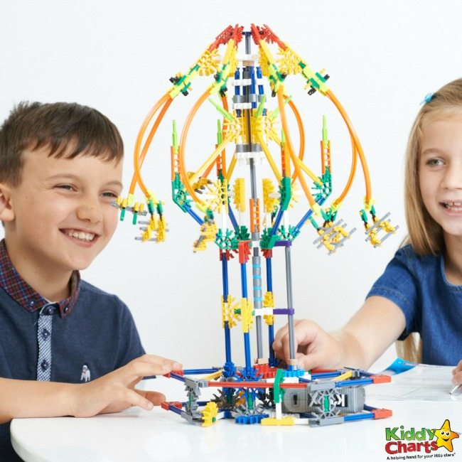 A chance to Win a K'Nex STEM Explorations Swing Ride