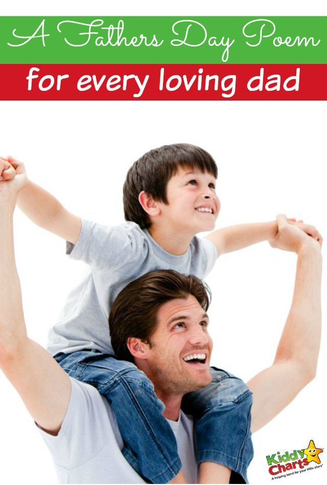 A fathers day poem for every loving dad
