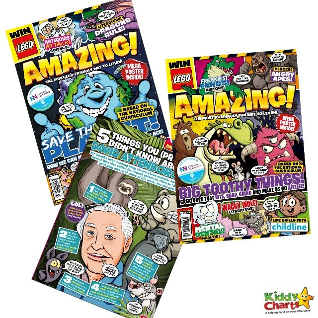 A years' subscription to AMAZING! Children's Magazine