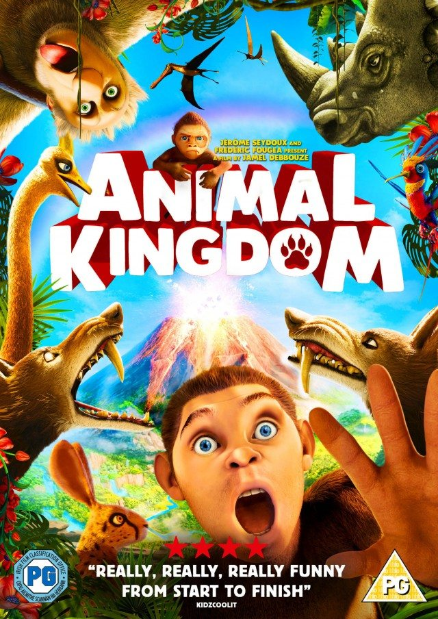 Animal Kingdom is out on DvD on the 15th February - why not take a look? It is a great family fiml, fun, and frolics as Edward teaches his fellow primates some cool human tricks!
