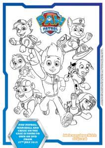 free paw patrol coloring books & activity sheets | kiddycharts