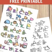 Alphabet poster printables