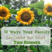 10 Ways Your Family Can Connect With Nature This Summer