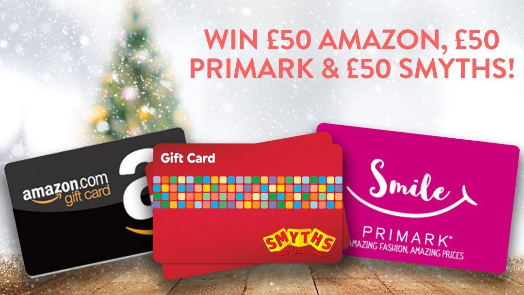 Channel Mum have another amazing competition for you - win £50 from Amazon, Smyths Toys and Primark - £150 in total for you to cover everything you might need! #giveaways #win #competitions
