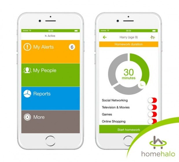 HomeHalo also has a free app for you to use to help manage the users and devices in your house.