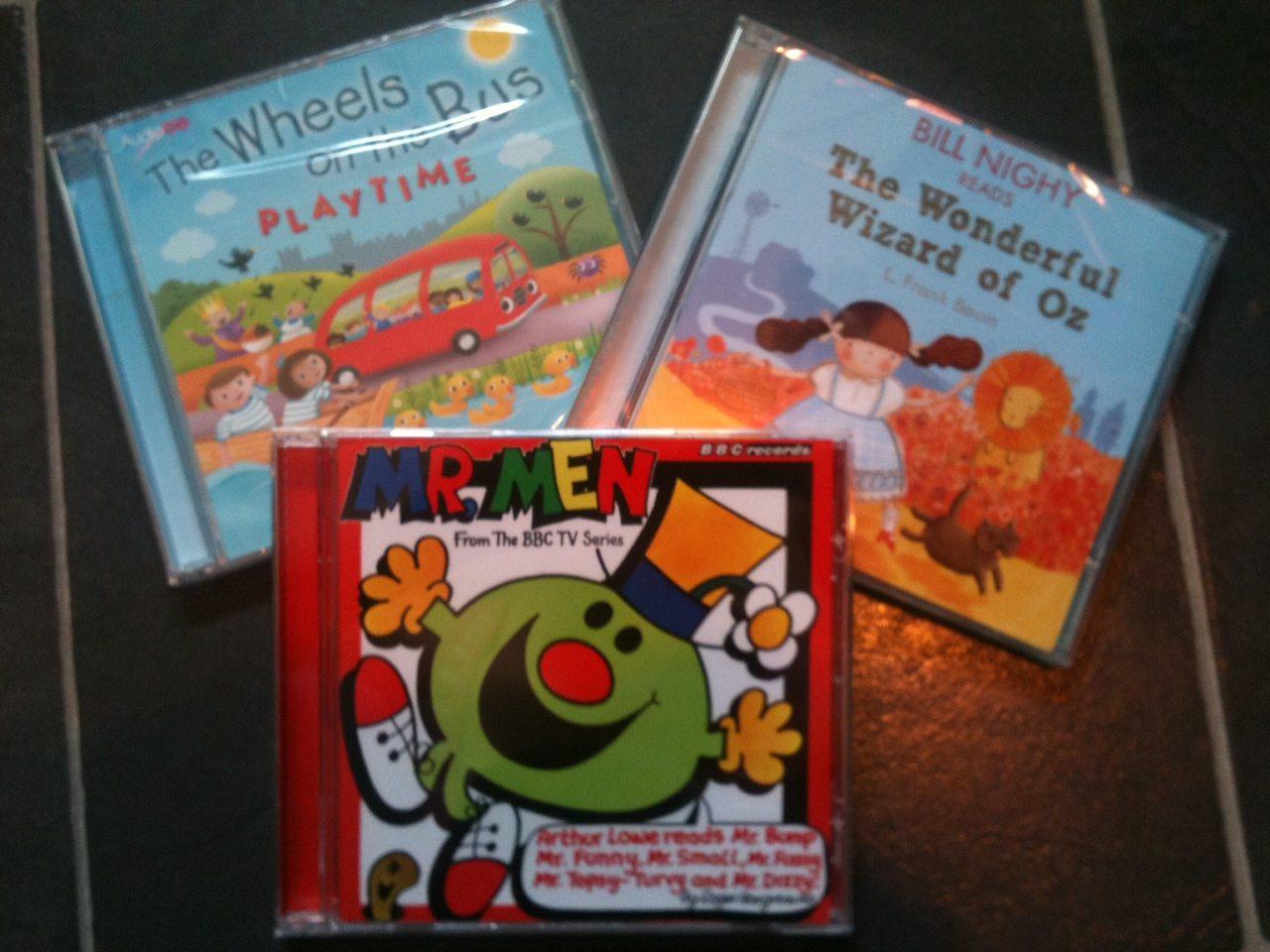 AudioGo: All three CDs