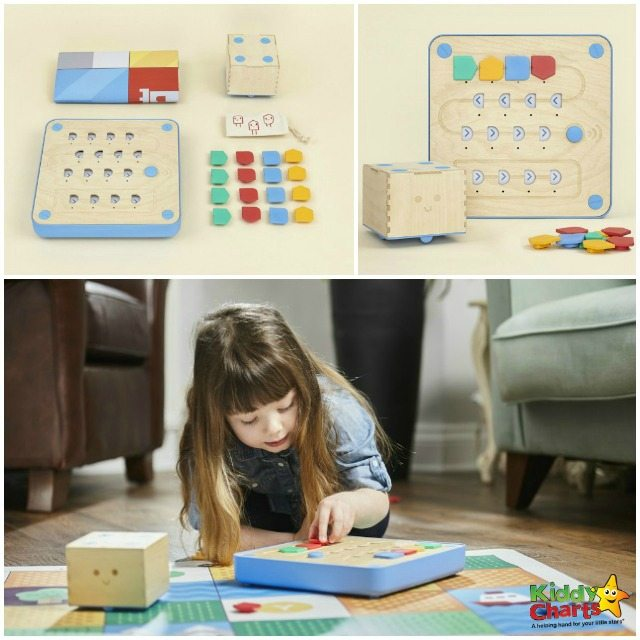 Aweome Cubetto wooden toy to teach youngsters to code