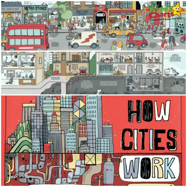 Awesome How Cities Work from Lonely Planet Kids