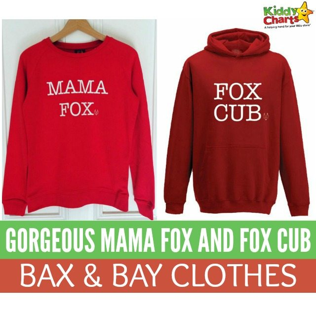 Awesome Mama Fox And Fox Cub Bax & Bay Clothes