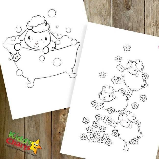 Baby Annabell coloring pages