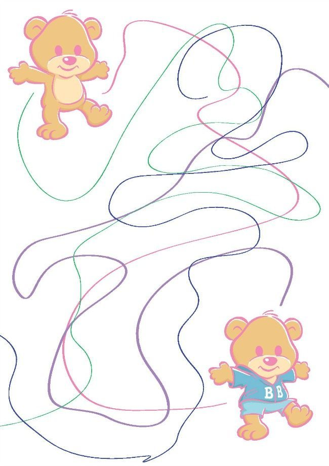 Baby Born activity page 1