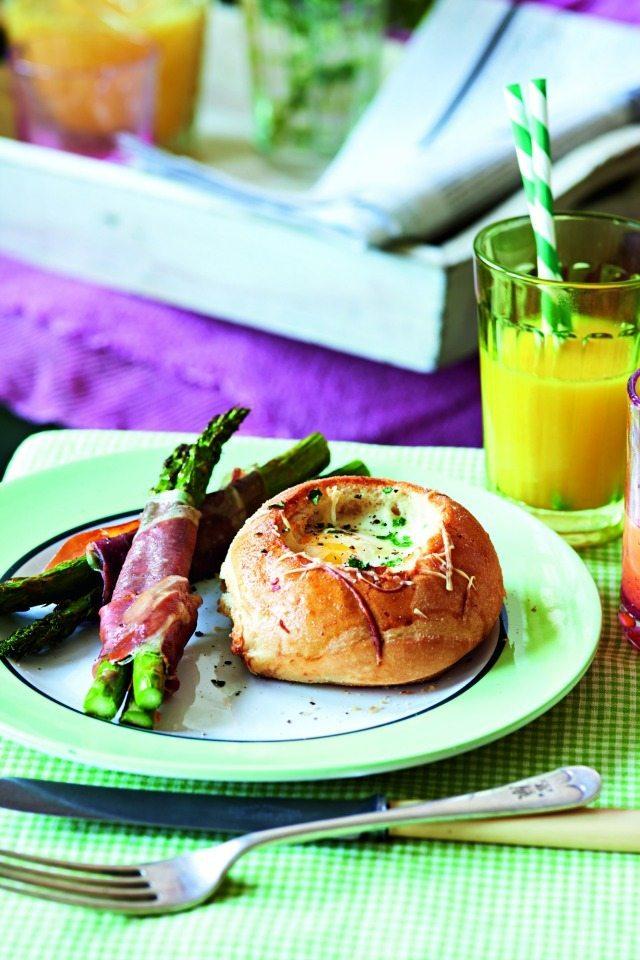 Baked-egg-rolls