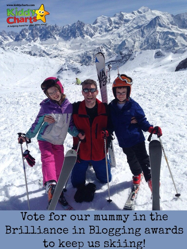 Brilliance in Blogging Awards: Vote for KiddyCharts