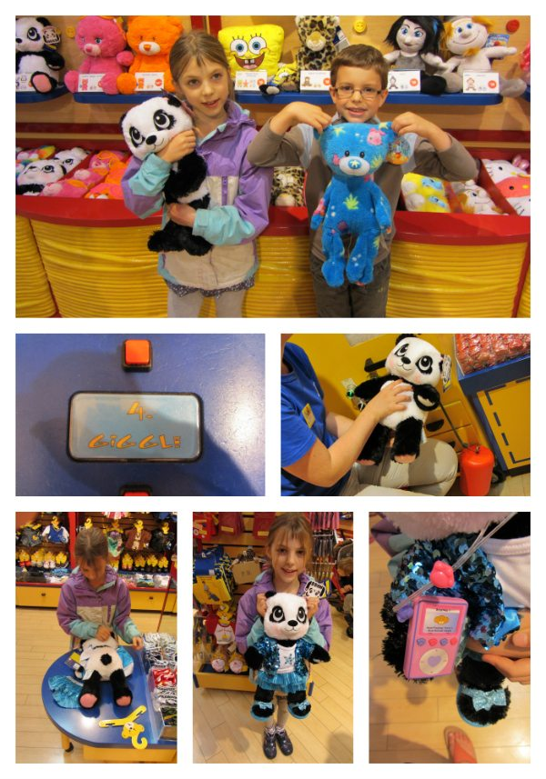 Build a Bear Panda Collage