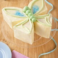 How to make a butterfly cake to help your birthday party fly