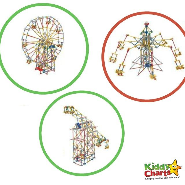 Celebrate and Go Gadget Free with Kiddiewinkles and Win K'NEX Classic Amusement Part Building Set