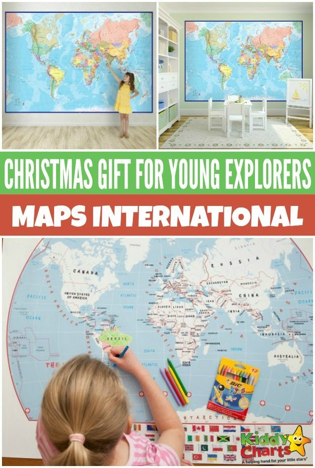 Christmas gift to inspire young explorers Maps International