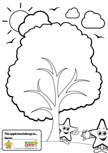 If Your Children Would Rather Colour In Their Worry Tree
