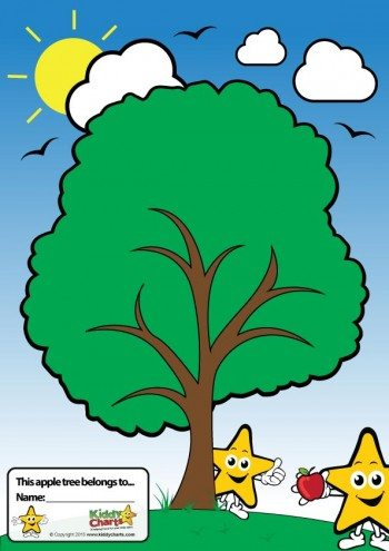 Here is your worry tree to help your kids to cope with their anxiety. Just pin an apple to the tree.
