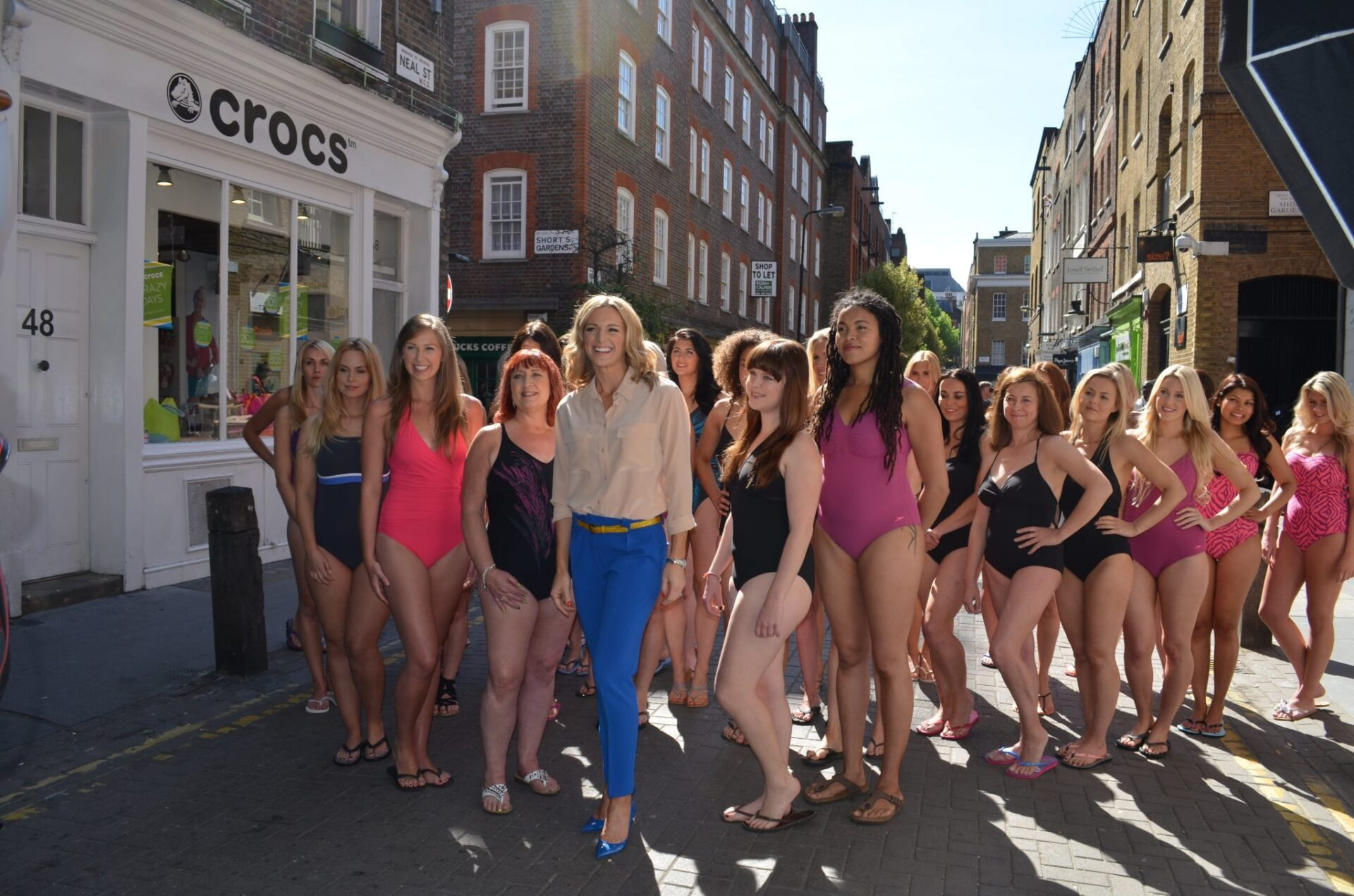 Exercise after birth: Parade to the Pool with Gabby Logan