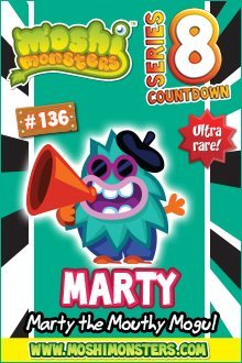 Moshi Monsters Series 8: Marty