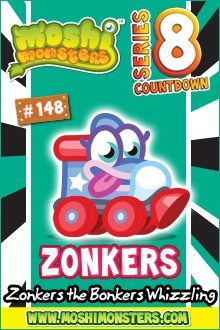 Moshi Monsters Series 8: Zonkers