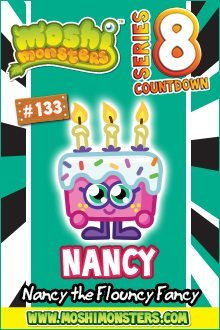 Moshi Monsters Series 8: Nancy Moshi