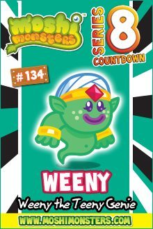 Moshi Monsters Series 8: Weeny