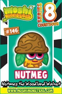 Moshi Monsters Series 8: Nutmeg