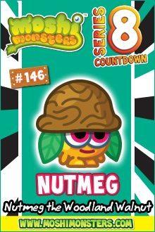 Moshi Monsters Series 8: Nutmeg
