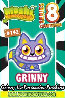 Moshi Monsters Series 8: Grinny