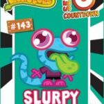 Moshi Monsters Series 8 countdown day 5 : Slurpy licks it!