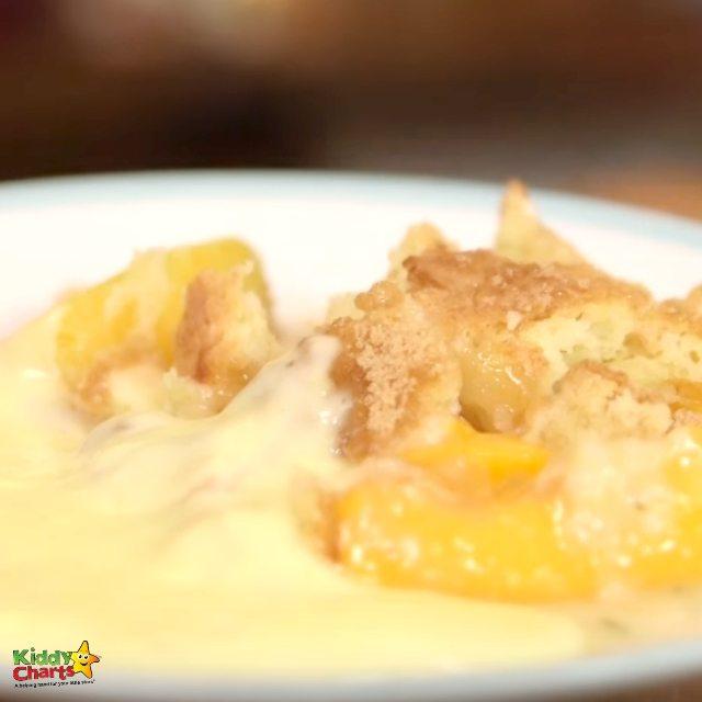 Delicious Peach Cobbler - cake dessert and biscuit recipes