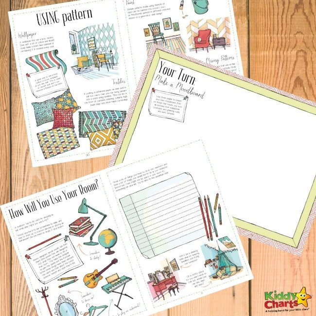 Design your own room coloring sheets and activities