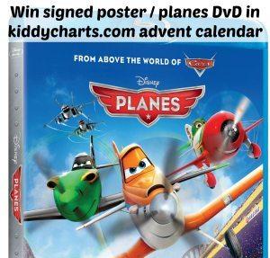 Disney Planes DvD - Featured