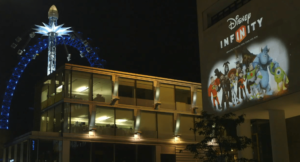 Disney Infinity: Projection in London