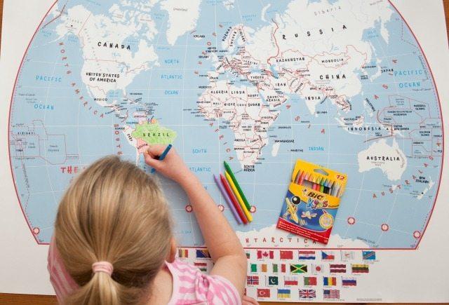 doodle-world-map