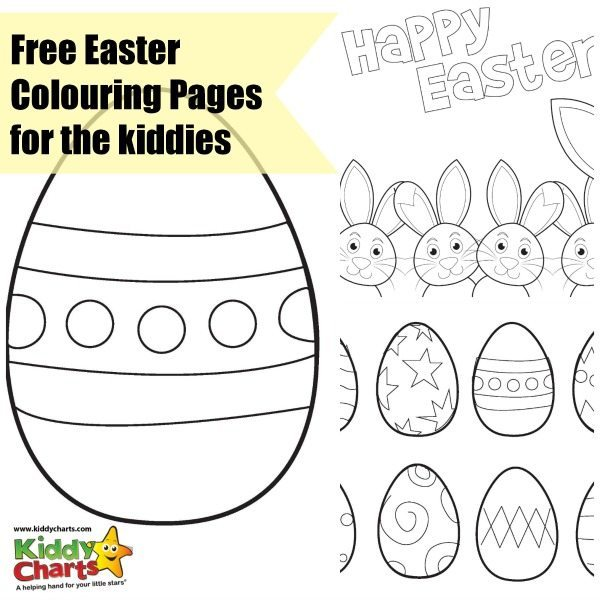 Easter Colouring Pages: Free!