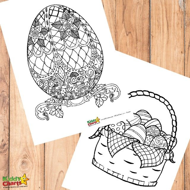 Easter Egg Coloring Pages For Adults And Kids