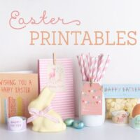Free Easter cards and party printables