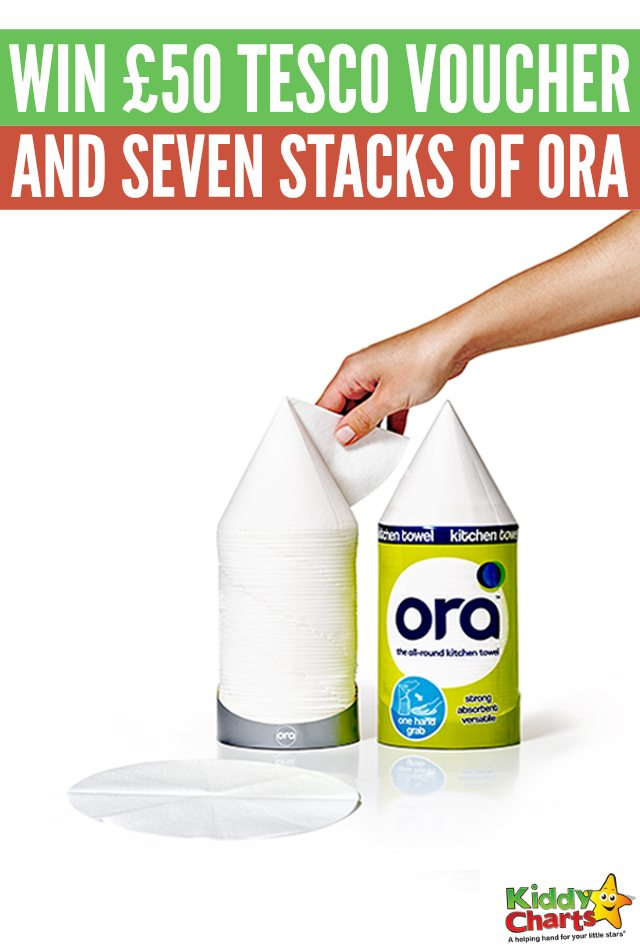 Enter for a chance to win 50 tesco voucher and seven stacks of ora