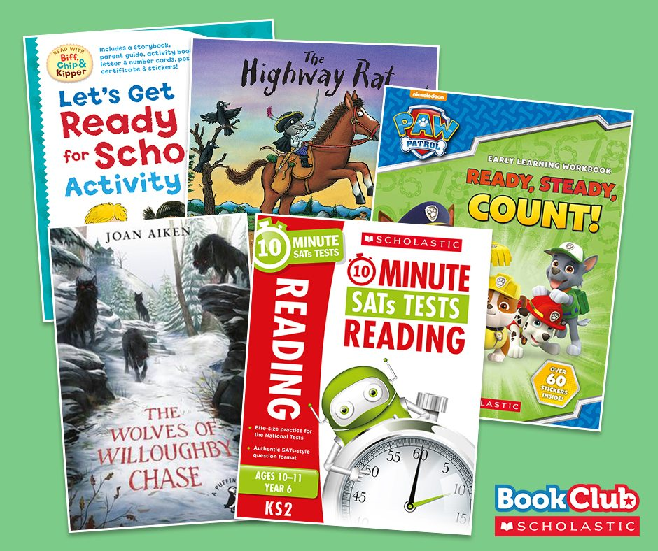 Do you want to win £50 of books from Scholastic - AND resources for your school? Enter now then!