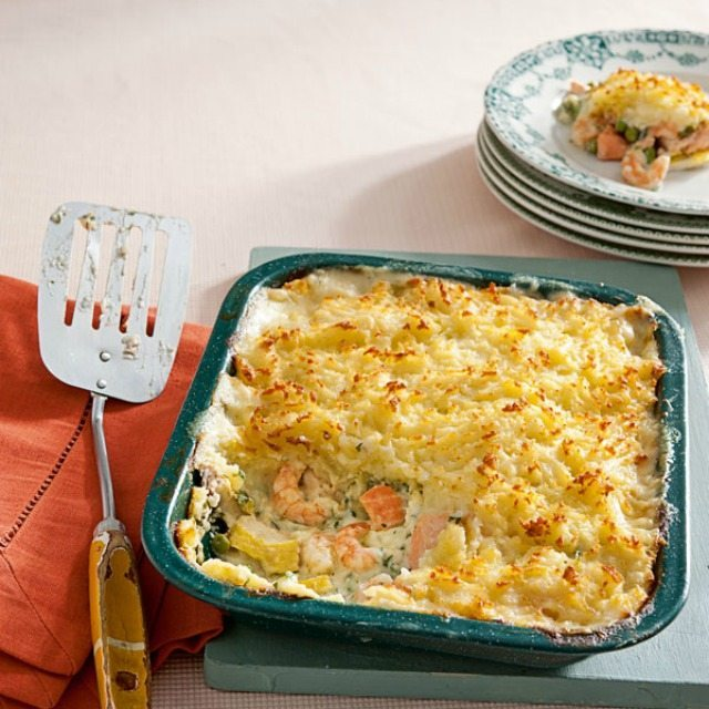 Fish-pie recipe